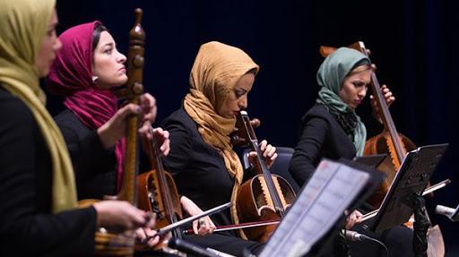 اجرای موسیقی بانوان «پریشاد» در تالار وحدت