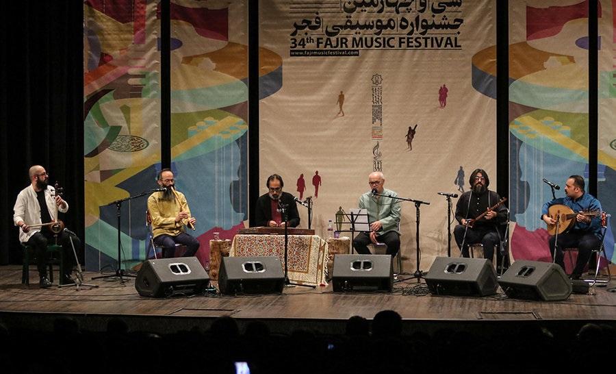 پوستر سی و پنجمین جشنواره موسیقی فجر منتشر شد + عکس