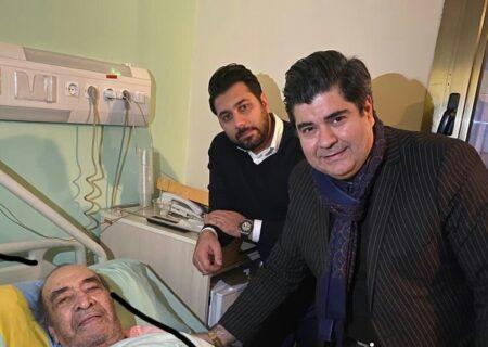 ایرج خواجه امیری در بیمارستان بستری شد