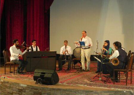 برگزاری کنسرت موسیقی در ساوه