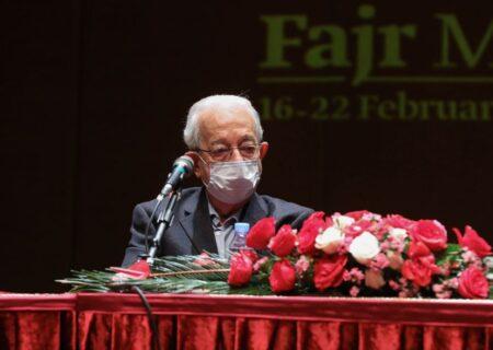 استقبال از جایزه «باربَد» در جشنواره موسیقی فجر