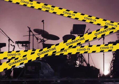 کنسرت نجومی که به دلیل کرونا متوقف شد