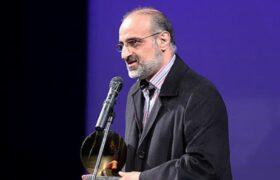 اعطای گواهینامه درجه یک هنری در رشته خوانندگی موسیقی به محمد اصفهانی