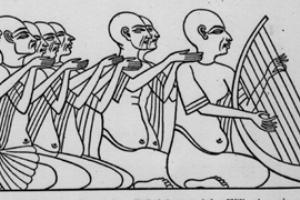 موسیقی در مصر باستان