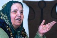 مراسم خاکسپاری پروین بهمنی